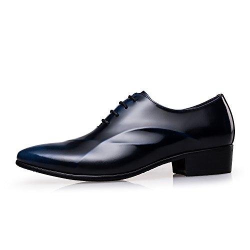 ZRO da per Blue abito moderne uomo stringate scarpe in formali Oxford elegante stile rOTqr