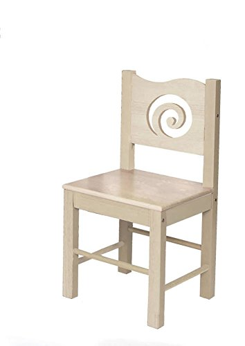 Room Magic Natural Desk Chair, Grey