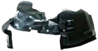 OE Replacement Jeep Wrangler/Sahara Front Driver Side Fender Splash Shield (Partslink Number CH1250132) Multiple Manufacturers