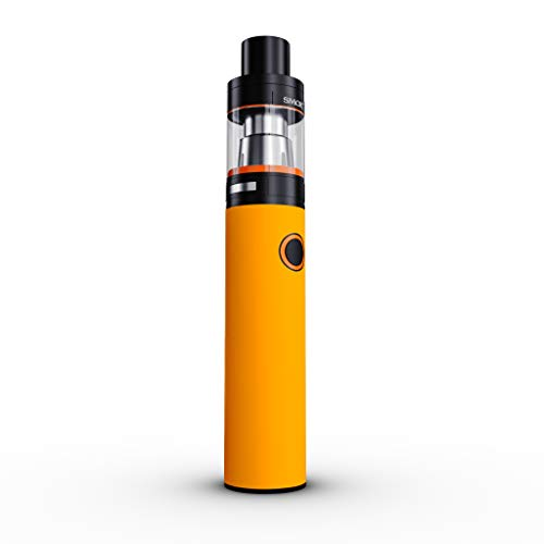 (SMOK Stick V8 Skin Decal - Solid State Orange - Sticker Wrap (Device not Included))
