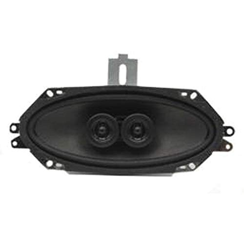 Eckler's Premier Quality Products 33-188357 Custom Autosound Camaro Speaker, In-Dash, For Cars Without Air Conditioning - by Premier Quality Products