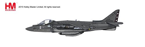 [Hobby Master, AV-8B Harrier II Plus, VMA-231, Cherry Point MCAS, Havelock, May 2012, 1:72 Die Cast Model, HA2619] (Harrier Toy)