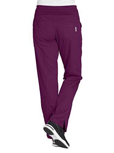 Grey's Anatomy 4-Pocket Yoga Knit Pant for Women - Modern Fit Medical Scrub Pant