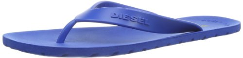 Diesel Men's Splish Flip Flop, Nautical Blue, 10.5 M US