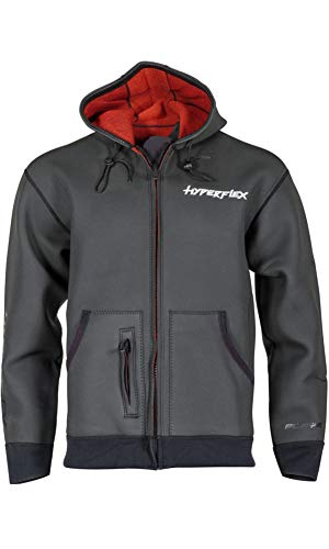 Hyperflex Playa Surf Jacket with Harness, Black, X-Large - Surfing, Windsurfing & ()