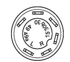 """Druckschalter mit Arretierung Schalter /"""" Differentialsperre /"""" Artikel Nr. KM 10 04 0092 Same Deutz Fahr Nr. ist im Lieferumfang enthalten 0.008.1335.0 Befestigungsmutter SW 36"""