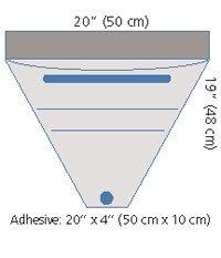 Medical Concepts Develop D1016 Pouch Fluid Sterile Large 20''x19'' 10/Ca