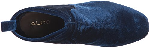 Aldo Womens Stefi-n Cheville Bottine, Marine, 8,5 B Us