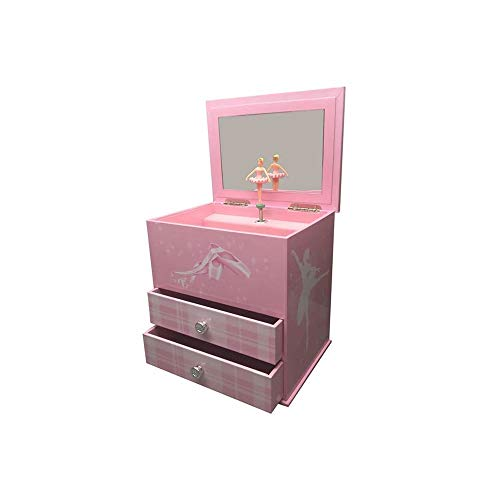 jakos Ballerina Musical Treasure Box - Pink