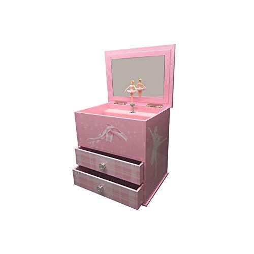jakos Ballerina Musical Treasure Box - Pink