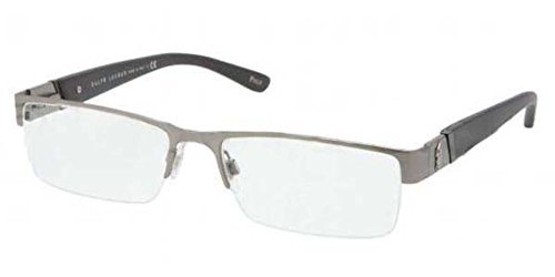 Polo PH1117 Eyeglasses-9157 Brushed Dark ()