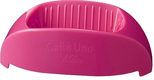칼리타 커피 드 re《파》 1 배전용 카페・《우노》 핑크 #04023