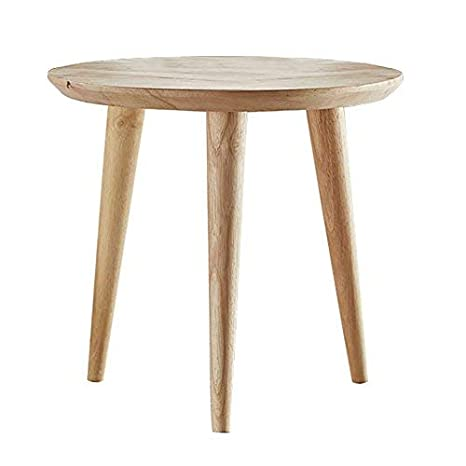 Excellent Woodshine Side Table Small Round Home And Office Sofa End Tables Solid Wood Multi Nesting Coffee Table For Living Room Short Links Chair Design For Home Short Linksinfo