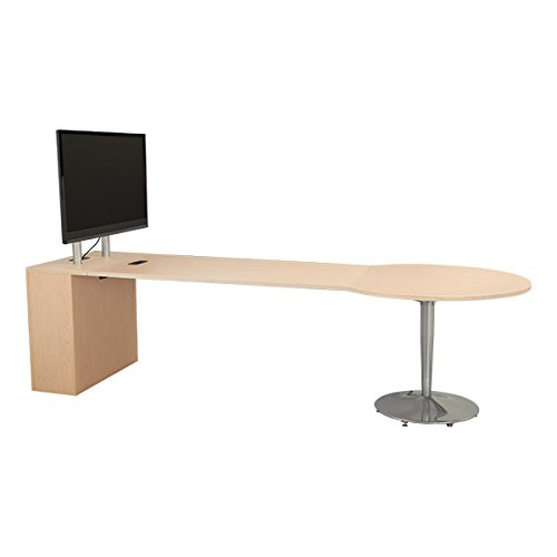 Gentil Amazon.com: Learniture Media Table With TV Mount And Storage Cabinet,  Maple, LNT TSU3046 SO: Industrial U0026 Scientific
