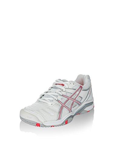 Tennis Rose 9 Plata Femme Challenger Blanco Asics de Coral Chaussures Gel wxEYzywqX0