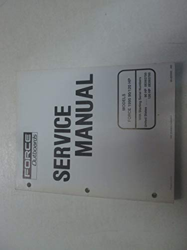 (1995 Force Outboards Models 90 120 HP Service Repair Shop Manual 90-830565 ***)