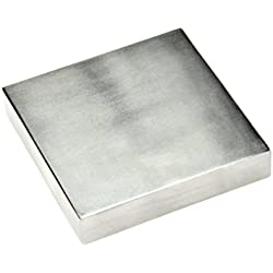 "SE JT34443SB Steel Bench Block, 4"" x ¾"" x 4"""