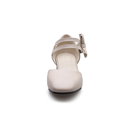 AdeeSu Womens Non-Marking Mini-Size Travel Urethane Sandals SLC03835 Apricot v3Yvu58