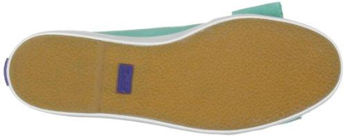 lona Turquesa para T Keds de Capri Solid WF46801 Bailarinas mujer FnFwX8Pq