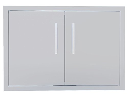 Sunstone BA-DD30 Beveled Frame Double Access Door, 30
