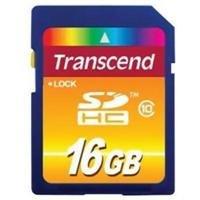 5 PACK Transcend TS16GSDHC10 5 x 16GB SDHC Class 10 Flash Memory Card