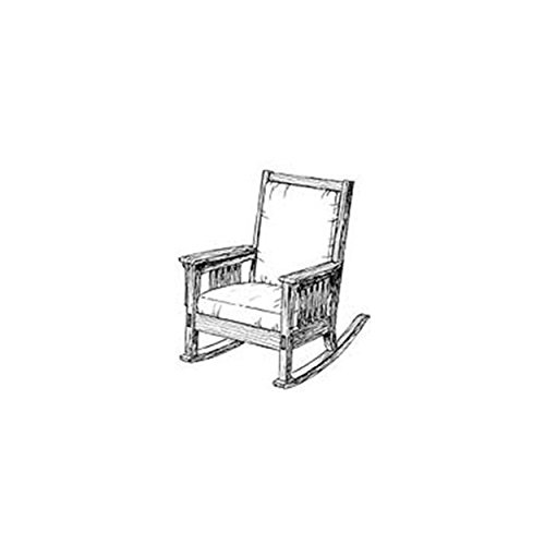 Woodworking Project Paper Plan to Build Authentic Mission Rocking - Plans Rocking Mission Chair