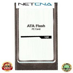 MEM-12KRP-FD1G Cisco 1GB Flash Disk PCMCIA 12000 Series Routers 3rd Party 100% Compatible memory by NETCNA USA (Flash Series Disk Pcmcia)