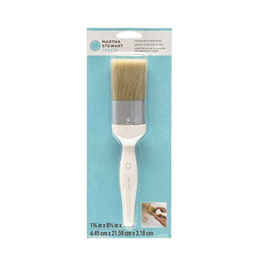 Martha Stewart Vintage Decor Paint Brush (Best Paint For Distressing)
