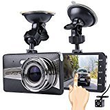 Dash Cam, LORAS Car DVR, Car Camera With 1080P Full HD Resolution 130° Wide-Angle Lens, Support StarLight Night Vision, G-sensor