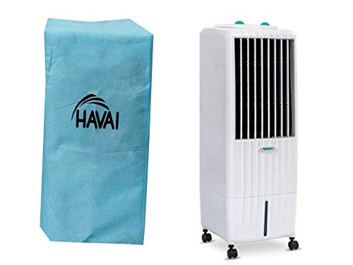 HAVAI Anti Bacterial Cover for Symphony Diet 12T Tower Cooler Water Resistant.Cover Size(LXBXH) cm:30 X 33 X 84.5