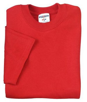 Jerzees mens 5 oz. HiDENSI-T T-Shirt(363)-TRUE RED-XL -
