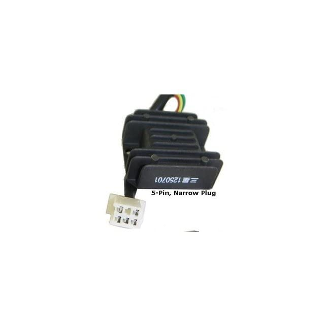 Gy6 Chinese Scooter Parts Voltage Regulator 150 250 Jonway Tank Lance Flyscooter