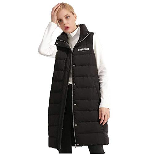 Down glissière à avec Down veste Modern chaude les Collar noirs fermeture Fashion adultes pour Women Sdq1wv