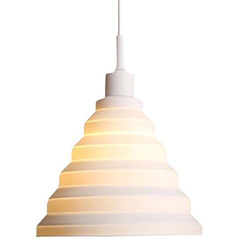 T.Y.S Lighting Edison Colorful Pendant Light Fixture E27/E26 Silicone Ceiling Light Holder (Light Marble Wall Washer)