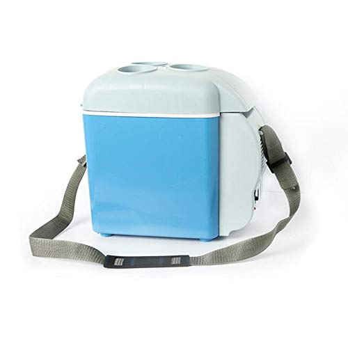 DEH Car Refrigerator car hot and Cold Dual-use Mini Refrigerator with Cup Holder