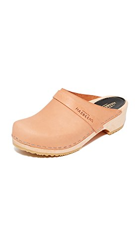 hasbeens Swedish Women's swedish Clog Husband Nature Cvxwwd
