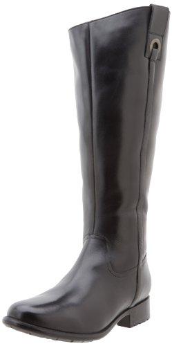 Clarks Plaza Beagle Womens Size 7.5 Black Fashion Knee-High