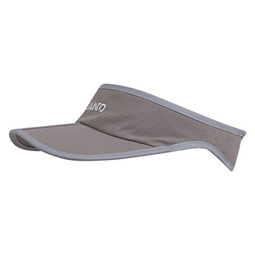 Foldable Visor Sun Hat - Outdoor Run Golf Hats with Adjustable Velcro - Quick-drying Nylon Running Tennis Visors Caps Sports Training - Shadow Visor Cap for Women Men - Visor Running Women