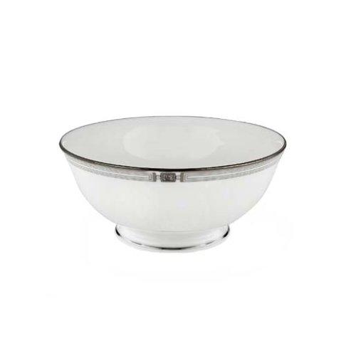 Lenox Westerly Platinum Bone China Fruit Bowl