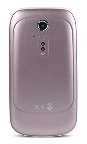 Doro 6520 Pale Rose/White 2.8″ 3G Unlocked & SIM Free