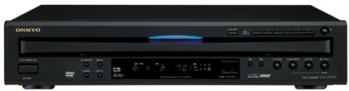 Onkyo 6-Disc Progressive Scan DVD/CD Changer with Component