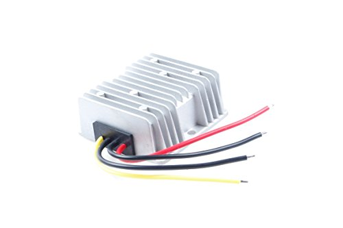 KNACRO 12V 24V (9-30V) To 48V 6A 288W DC-DC Waterproof Boost Converter Automatic Step Up Voltage Regulator Module Car Power Supply Voltage Transformer Input 9-30V with 4 Wires (12V UP TO 48V 6A) by KNACRO (Image #3)