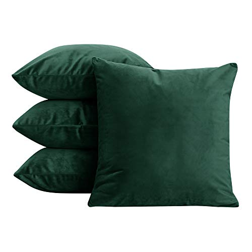 Green Velvet Cushion Set - 7