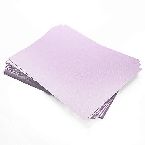 Stardream Kunzite Metallic Paper - 8 1/2 x 11, 81lb Text, 25 Pack
