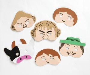 Jack and the Beanstalk - Storytelling Foam Play Masks -
