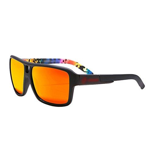 Lentille Goggle Lunettes Sport avec de Protection Polarisé Grande 7 Style Soleil Lvguang Sportif Sunglasses Hommes XBZq77