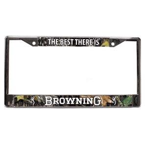 Hunting Theme License Plate Frame - Camo - Browning License Plate Frame