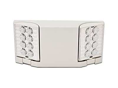 Howard Lighting HL0223L-W White Case/Housing Led Emergency Light Fixture
