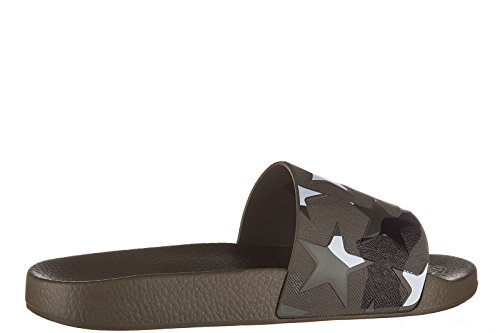 Valentino mules sandales chaussons homme marron