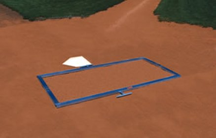 - Jaypro Sports Batters Box Foldable Template (Softball)